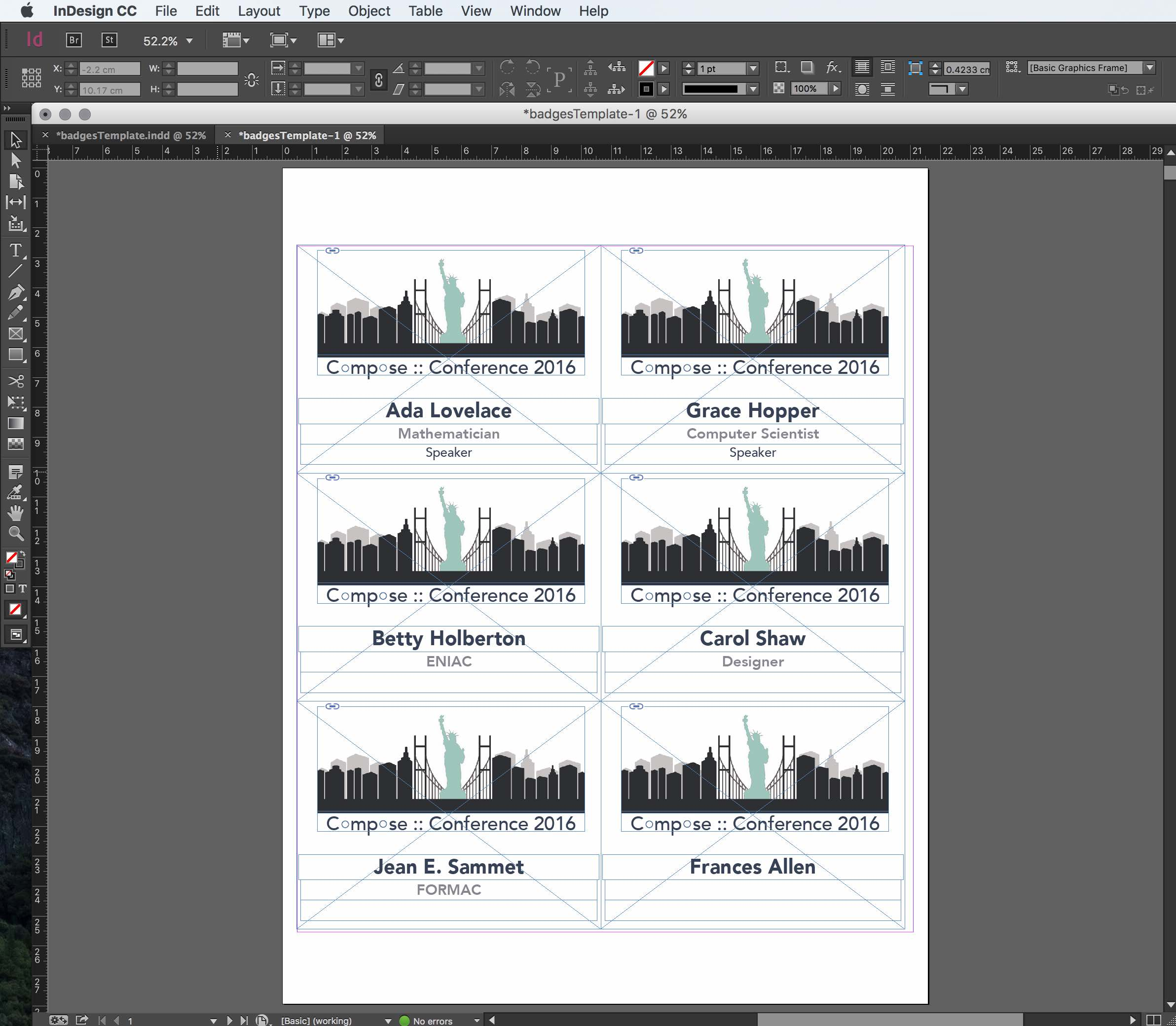 Indesign badges the easy way badges produced by indesign data merge saigontimesfo